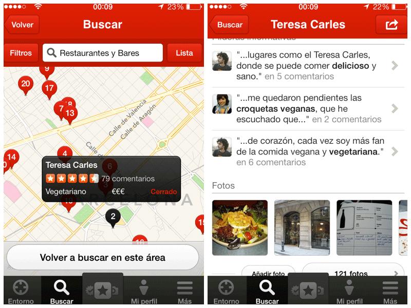 Las 5 mejores aplicaciones móviles sobre gastronomía y restaurantes