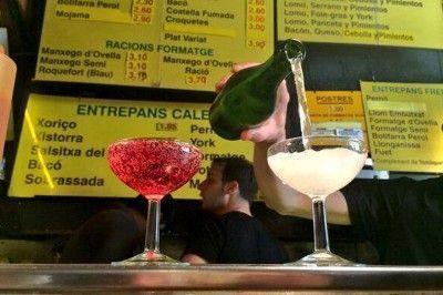 bocadillos baratos la champañería barcelona