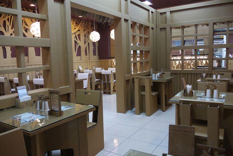Carton king el restaurante de cart n menos la comida - Muebles japoneses barcelona ...