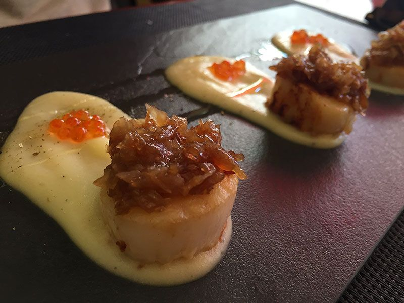 vieiras restaurante marlen tastets barcelona
