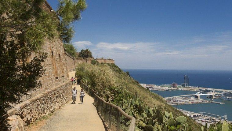mirador del migdia sitios picnic en barcelona