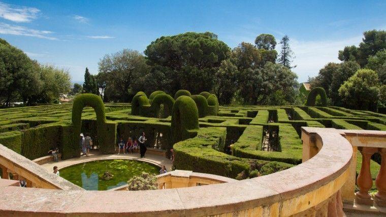 parque laberinto de horta sitios picnic barcelona
